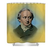 Baron Von Bunsen, German Diplomat Shower Curtain