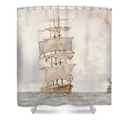 Barque And Tug Shower Curtain