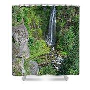 Barr Creek Falls Shower Curtain