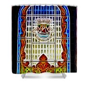 Barriero Window Shower Curtain