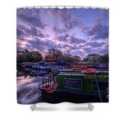 Barrow Boats 2.0 Shower Curtain