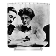 Barrymore Siblings, 1904 Shower Curtain