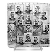 Baseball, 1894 Shower Curtain