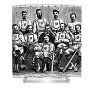 Baseball: Canada, 1874 Shower Curtain by Granger