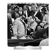 Baseball Crowd, 1962 Shower Curtain