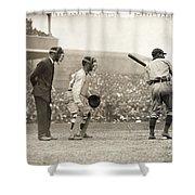 Baseball Game, 1908 Shower Curtain