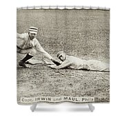 Baseball Game, C1887 Shower Curtain