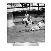 Baseball Game, C1915 Shower Curtain