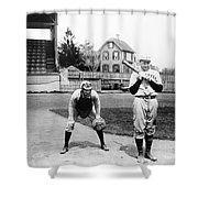 Baseball: Princeton, 1901 Shower Curtain