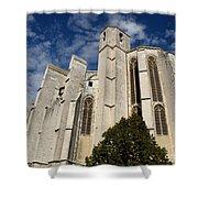 Basilica Of Saint Mary Madalene Back View Shower Curtain
