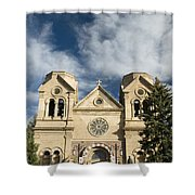 Basilica Of St Francis Shower Curtain