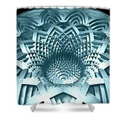 Basket Of Hyperbolae 02 Shower Curtain