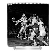 Basketball Game, C1960 Shower Curtain