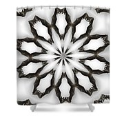 Bat-o-scope Shower Curtain