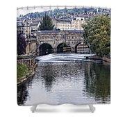 Bath England Shower Curtain