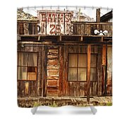 Baths Twenty Five Cents Shower Curtain