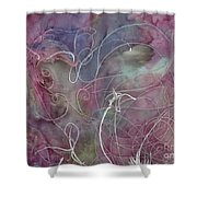 Batik  Shower Curtain