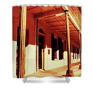 Baton Rouge Downtown Shower Curtain