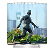 Batters City View Shower Curtain