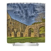 Battle Abbey Ruins Shower Curtain