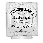 Battle Hymn Of Republic Shower Curtain