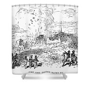 Battle Of Fort Erie, 1814 Shower Curtain