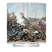 Battle Of Franklin, 1864 Shower Curtain