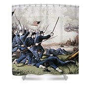 Battle Of Jonesboro, 1864 Shower Curtain