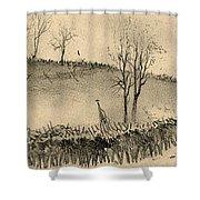 Battle Of Kernstown, 1862 Shower Curtain