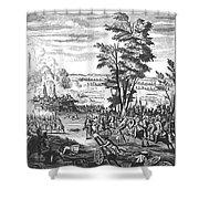 Battle Of Malplaquet, 1709 Shower Curtain