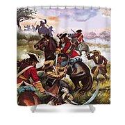 Battle Of Sedgemoor Shower Curtain