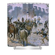 Battle Of Solferino And San Martino Shower Curtain
