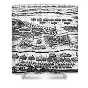 Battle Of Steinau, 1633 Shower Curtain