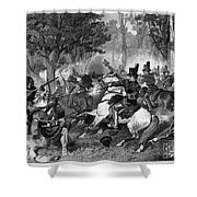 Battle Of The Thames Shower Curtain