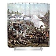 Battle Of Winchester, Shower Curtain