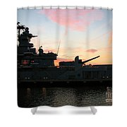 Battleship Shower Curtain