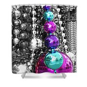 Baubles Bangles And Beads Shower Curtain