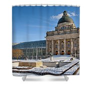 Bavarian State Chancellery Shower Curtain