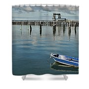 Bay Of Whispers Shower Curtain