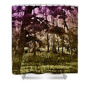 Bayou Twilight Shower Curtain