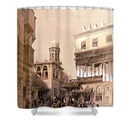 Bazaar Of The Coppersmiths Cairo Shower Curtain
