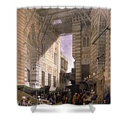 Bazaar Of The Silk Mercers Shower Curtain