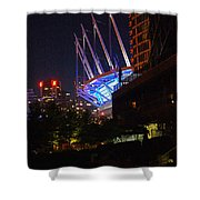 B.c. Place At Night Shower Curtain