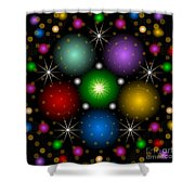 Be Jeweled 2012 Shower Curtain