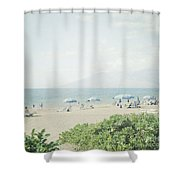 Beach At Wailea  Shower Curtain
