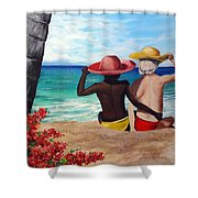 Beach Buddies Shower Curtain