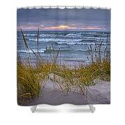 Beach By Holland Michigan No 0192 Shower Curtain