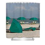 Beach Furniture II Shower Curtain