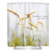 Beach Grass .serenity. Shower Curtain