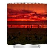 Beach Market Day  Shower Curtain